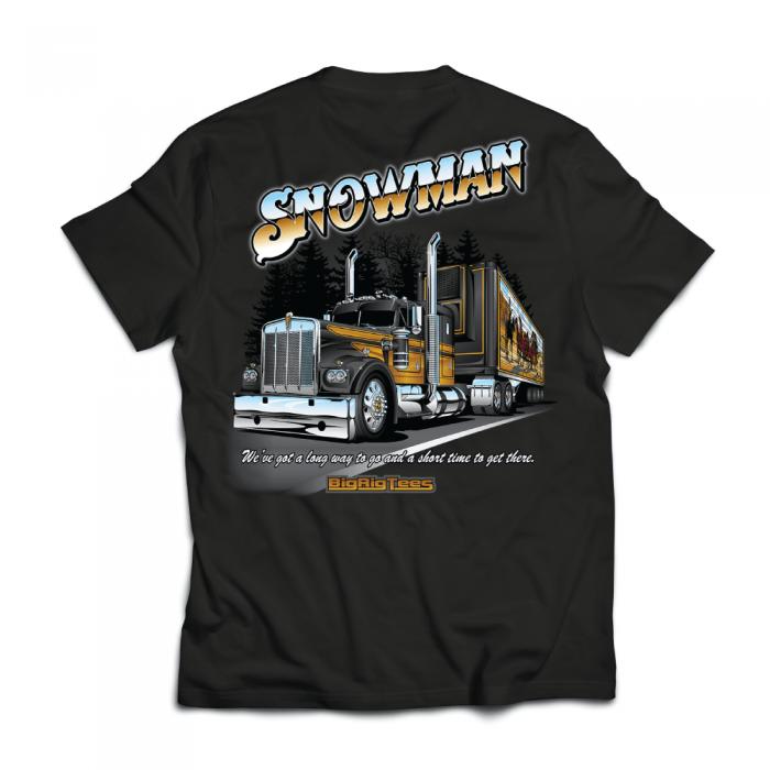 Snowman Back