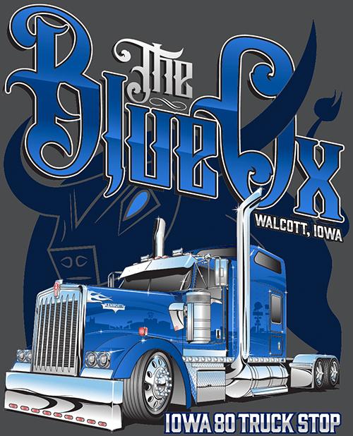 Iowa 80's – The Blue Ox