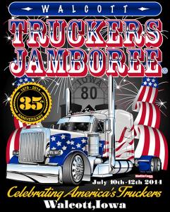 Iowa 80 Truckers' Jamboree 2014