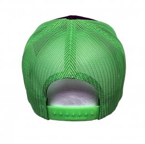 Richardson Charcoal/Neon Green Hat
