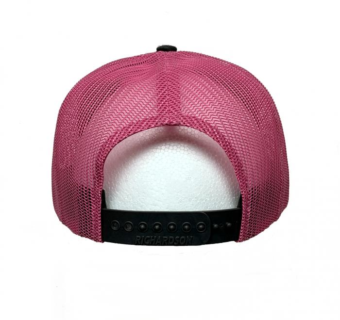 Richardson Charcoal/Neon Pink Hat – Big Rig Tees