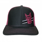 Richardson Charcoal/Neon Pink Hat