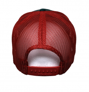 Richardson Charcoal/Red Hat