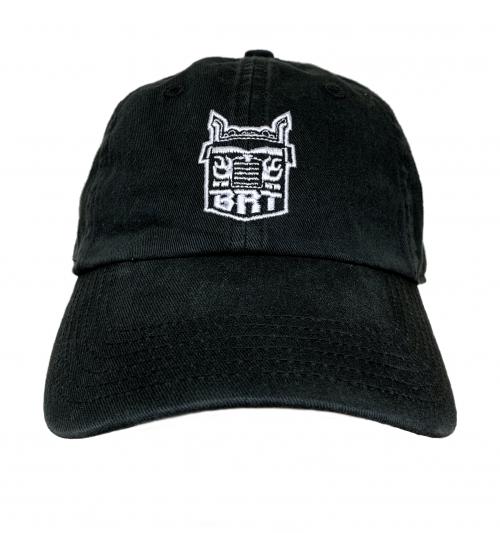 Richardson Black Washed Chino Toddler Hat –