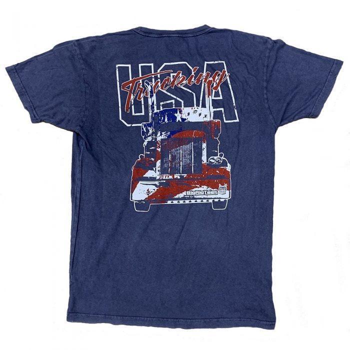 Trucking USA Back Shirt